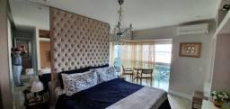 Apto de luxo mobiliado Place - Umarizal, 202m² com 3 suítes e 3 vagas de garagem
