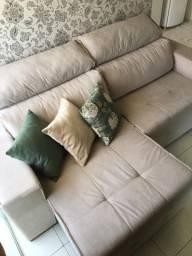 Sofá com chaise (2 lugares)