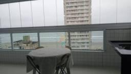 Apartamento com 3 dormitórios para alugar, 121 m² por R$ 3.300,00/mês - Aviação - Praia Gr