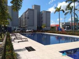 Apartamento com 2 dormitórios para alugar, 48 m² por R$ 759,00/mês - Centro - Eusébio/CE
