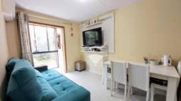 Apartamento com 2 dormitórios à venda, térreo mobiliado por R$ 114.900 - Pinheiro - São Le