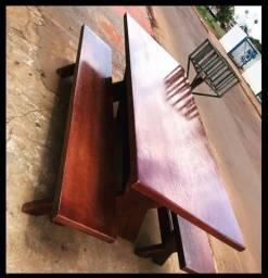 Mesas com bancos apartir de 650,00
