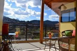 Casa à venda com 4 dormitórios em Cascatinha, Petrópolis cod:2499
