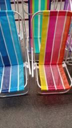 Cadeiras de praia novas  (entrego)