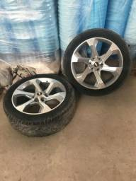 Rodas c/pneus aro 22 6x139
