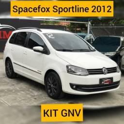 SPACEFOX 2012/2012 1.6 MI SPORTLINE 8V FLEX 4P MANUAL - 2012