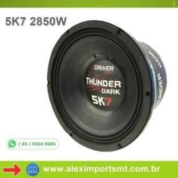 Alto Falante Woofer 7driver Thunder 5k7 2850w Rms 12 Polegadas