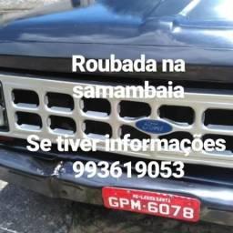 Caminhote f1000 roubada na samambaia - 1989