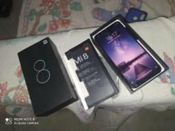 Xiaomi Mi 8 64 GB/6 GB RAM azul, sem marcas de uso, acompanha nota fiscal