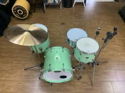 Bateria pratos customizada mapex