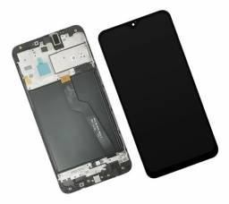 Tela frontal display LCD com aro compativel A10 A105