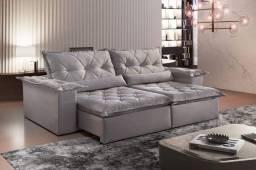 Sofa retratil e reclinavel ouro preto 2,50mb MMM629