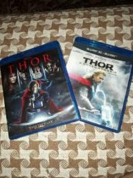 Blu ray combo  filme Marvel/ Disney Thor. 3 Discos. Heróis.  Vingadores. Avengers
