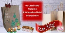 Kit de Natal - Presenteie quem você ama! (Qualidade Divino Cake)