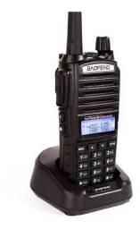 Rádio Comunicador Baofeng Ht Dual Band Uv-82 Bateria 5000mh 8w + Fone