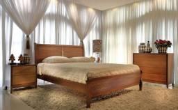 Belíssima cama King Size com colchão