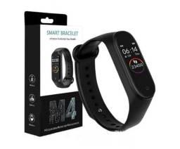Relógio M4 Inteligente Smartwatch Monitor Cardíaco E Pressão