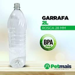 Garrafa pet 2  litros - lançamento