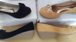 Vendo sapatos Anabela novos Araçatuba