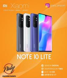 Xiaomi Mi Note 10 Lite 64GB Versão Global - Paty Importados