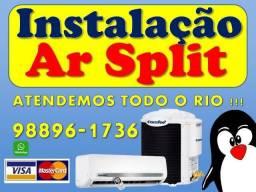 Instalador de Ar Condicionado Duque de Caxias