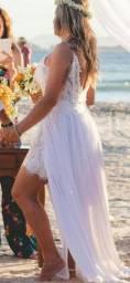 Vestido de Casamento na Praia