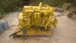 Motor diesel 6cc turbo atak ford310 cv turbinado completo