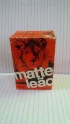 Caixa antiga matte leão.