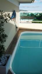 Ótima cobertura horizontal, 3 suites,2 vagas e piscina