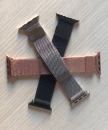 Pulseira Milanese Apple Watch