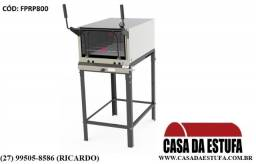 Forno Refratário para Pizza com Cavalete Inox PRP-800 G2 S/KG Progás