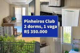Vendo apartamento de 2 dormitórios no Pinheiros Cond. Club