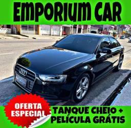 TANQUE CHEIO SO NA EMPORIUM CAR!!! AUDI A4  LM ANO 2015 COM MIL DE ENTRADA