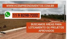 Assessoria em glebas para Loteamento - aprovações, implementação e vendas
