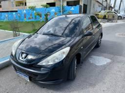 Peugeot 207 preto 4 pts
