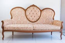 Conjunto sofá Luiz XV