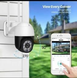 Título do anúncio: Câmera IP wifi para área interna ou externa