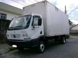 Caminhão Baú Mercedes Benz