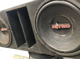 Subwoofer Spyder Nitro 700wrms Bobina Dupla
