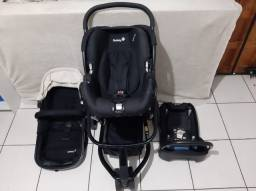 Título do anúncio: Carrinho de Bebê com bebê conforto Safety 1st Mobi