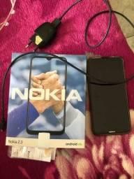 Smartphone Nokia 2.3 Rosé Gold (Celular seminovo completo)