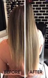 Mega hair cabelo loiro
