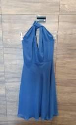 Vestido Azul Novo