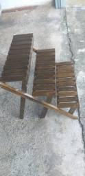 Apoiador de vasos escada
