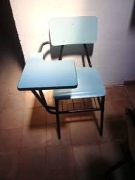 cadeira escolar tipo universitária