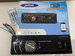 Rádio com bluetooth Jetlink