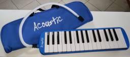 Escaleta Acoustic Azul - 32 Teclas