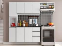 Cozinha Completa com Balcão em MDF Nova Lacrado