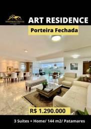 Título do anúncio: Art Residence Porteira Fechada 3 Suítes +home Office