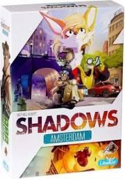 Jogo de Tabuleiro Shadows Amsterdam Galápagos Board Game Novo, Lacrado